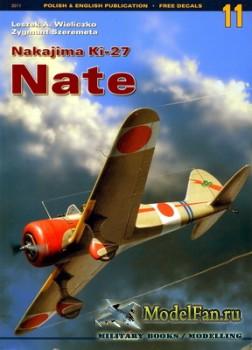 Kagero - Monografie 11 - Nakajima Ki-27 Nate