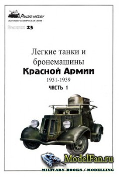 Восточный фронт - Panzer History 23 - Легкие танки и бронемашины Красной Ар ...