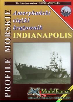 Profile Morskie 14 - American Cruiser USS Indianapolis