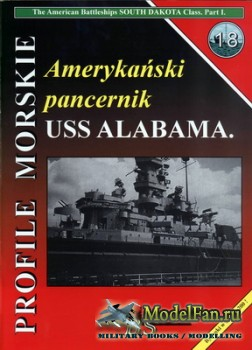 Profile Morskie 18 - American Battleships USS Alabama