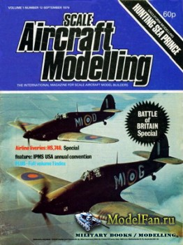 Scale Aircraft Modelling Vol.1 №12 (September 1979)