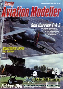 Scale Aviation Modeller International (June 1995) Vol.1 №6