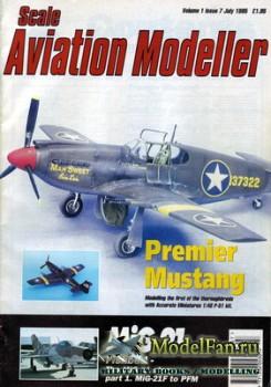 Scale Aviation Modeller International (July 1995) Vol.1 №7