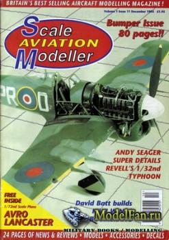 Scale Aviation Modeller International (December 1995) Vol.1 №11