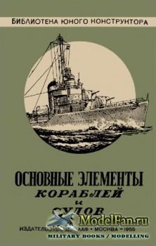 Основные элементы кораблей и судов (М.Б. Лобач-Жученко)