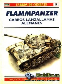 Osprey - Carros de Combate 9 - Flammpanzer Carros Lanzallamas Alemanes
