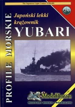 Profile Morskie 21 - Japonski Lekki Krazownik Yubari