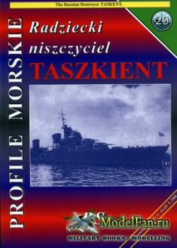 Profile Morskie 29 - Russian Destroyer Tashkent