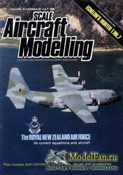 Scale Aircraft Modelling Vol.10 №10 (July 1988)