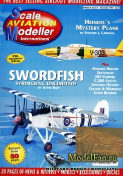 Scale Aviation Modeller International (November 1997) Vol.3 №11