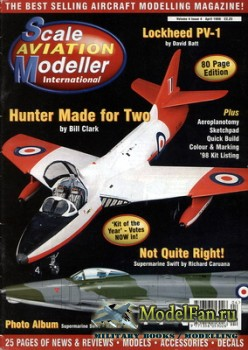 Scale Aviation Modeller International (April 1998) Vol.4 №4