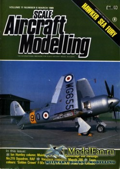 Scale Aircraft Modelling Vol.11 №6 (March 1989)