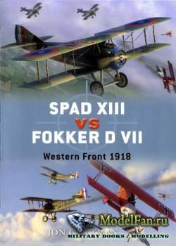 Osprey - Duel 17 - Spad XIII vs Fokker D VII: Western Front 1918