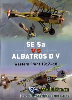 Osprey - Duel 20 - SE 5a vs Albatros D V: The Western Front 1917-18