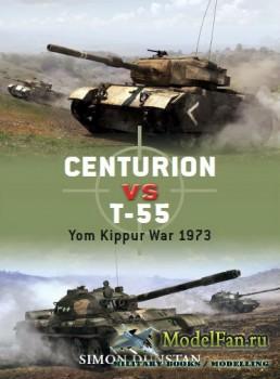 Osprey - Duel 21 - Centurion vs T-55: Yom Kippur War 1973