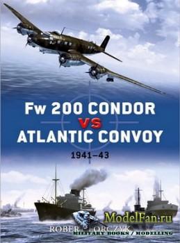 Osprey - Duel 25 - Fw 200 Condor vs Atlantic Convoy: 1941-43