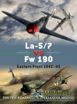 Osprey - Duel 39 - La-5/7 vs Fw 190: Eastern Front 1942-45
