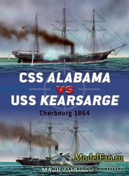 Osprey - Duel 40 - CSS Alabama vs USS Kearsarge: Cherbourg 1864