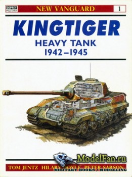 Osprey - New Vanguard 1 - Kingtiger Heavy Tank 1942-45
