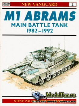 Osprey - New Vanguard 2 - M1 Abrams Main Battle Tank 1982-1992