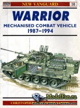 Osprey - New Vanguard 10 - Warrior Mechanised Combat Vehicle 1987-1994