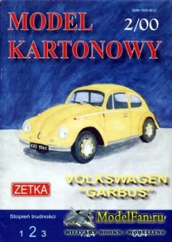 Zetka №4 (Model Kartonowy) (2/2000) - Volkswagen