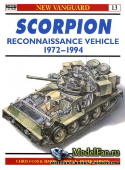 Osprey - New Vanguard 13 - Scorpion Reconnaissance Vehicle 1972-1994