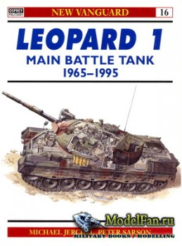 Osprey - New Vanguard 16 - Leopard 1 Main Battle Tank 1965-1995