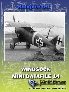 Windsock - Mini Datafile 14 - Rumpler D.I