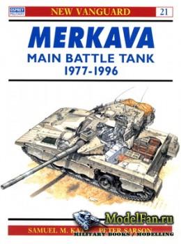 Osprey - New Vanguard 21 - Merkava Main Battle Tank 1977-1996