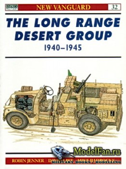 Osprey - New Vanguard 32 - The Long Range Desert Group 1940-1945