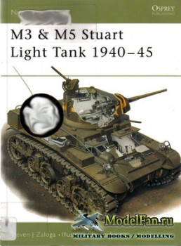 Osprey - New Vanguard 33 - M3 & M5 Stuart Light Tank 1940-45