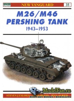 Osprey - New Vanguard 35 - M26/M46 Pershing Tank 1943-1953