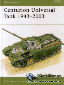Osprey - New Vanguard 68 - Centurion Universal Tank 1943-2003