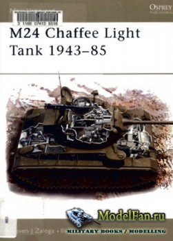 Osprey - New Vanguard 77 - M24 Chaffee Light Tank 1943-1985