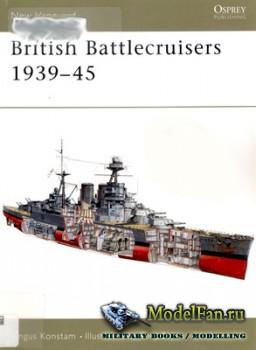 Osprey - New Vanguard 88 - British Battlecruisers 1939-1945
