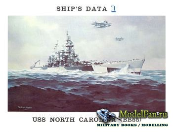 USS North Carolina (BB55) (Ship's data 1)