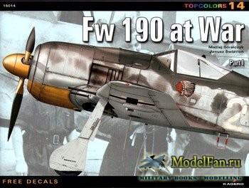 Kagero TopColors 14 - Fw 190 at War