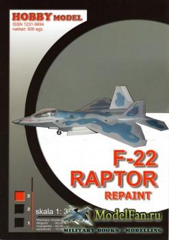 Hobby Model №71 - F-22 Raptor (Repaint)