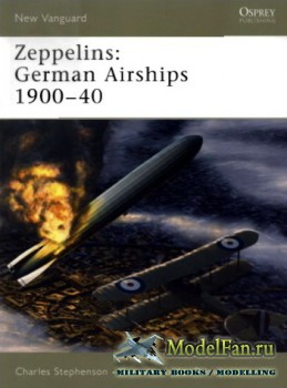 Osprey - New Vanguard 101 - Zeppelins: German Airships 1900-40