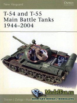 Osprey - New Vanguard 102 - T-54 and T-55 Main Battle Tanks 1944-2004