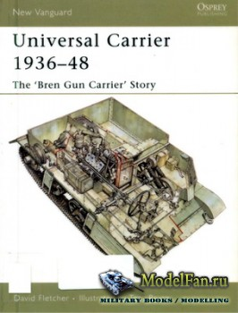 Osprey - New Vanguard 110 - Universal Carrier 1936-48