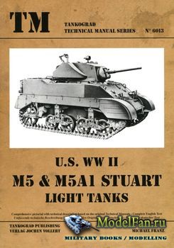Tankograd 6013 - U.S. WWII M5 & M5A1 Stuart Light Tanks