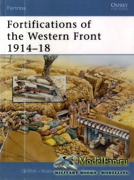 Osprey - Fortress 24 - Fortifications of the Western Front 1914-1918