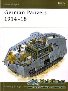 Osprey - New Vanguard 127 - German Panzers 1914-18