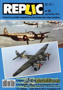 Replic №13 (1992) - Ju-88 A-4, Ju-188, Cessna A-37, FW-190 D-9