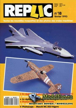 Replic №18 (1993) - Sukhoi Su-24, Curtiss H-75 Hawk, Macchi MC-202 Folgore