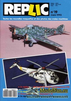 Replic №19 (1993) - Sikorsky SH-3H Sea King, Savoja Marchetti S-79, Grumman ...