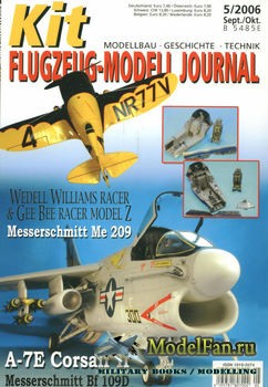 Kit Flugzeug-Modell Journal №5 2006