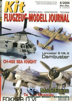 Kit Flugzeug-Modell Journal №6 2006